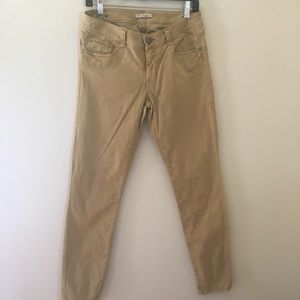 CAbi mustard color jeans